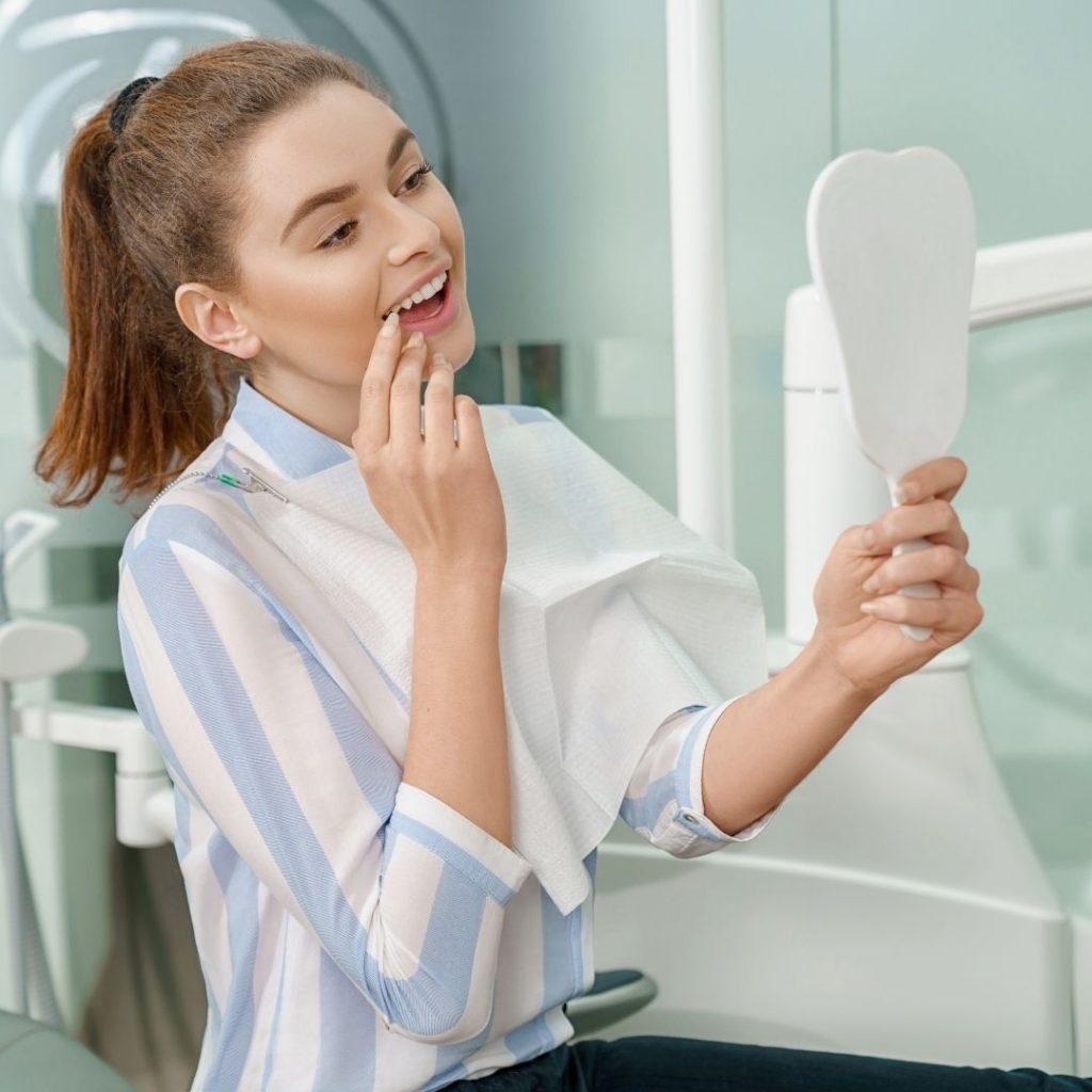 reparar un diente roto